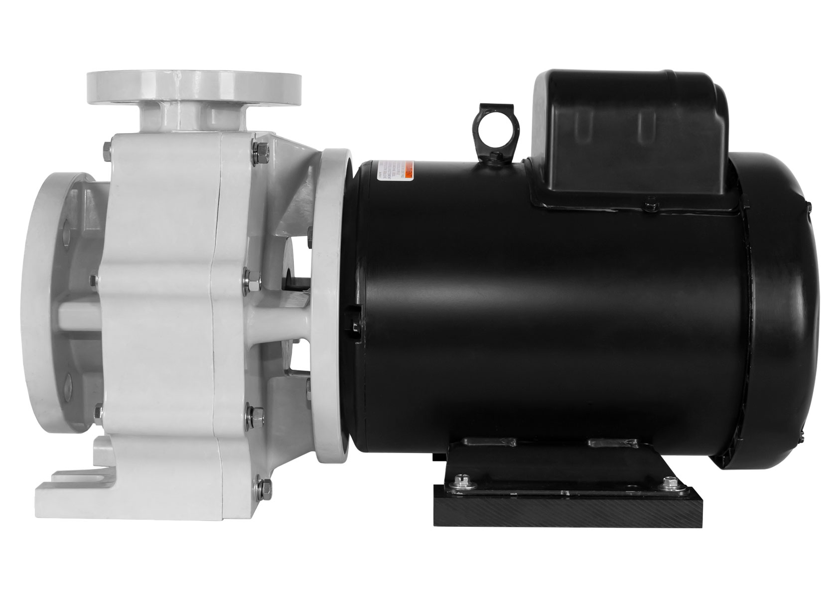 Sequence Titan Pump with black Marathon Motor right side view